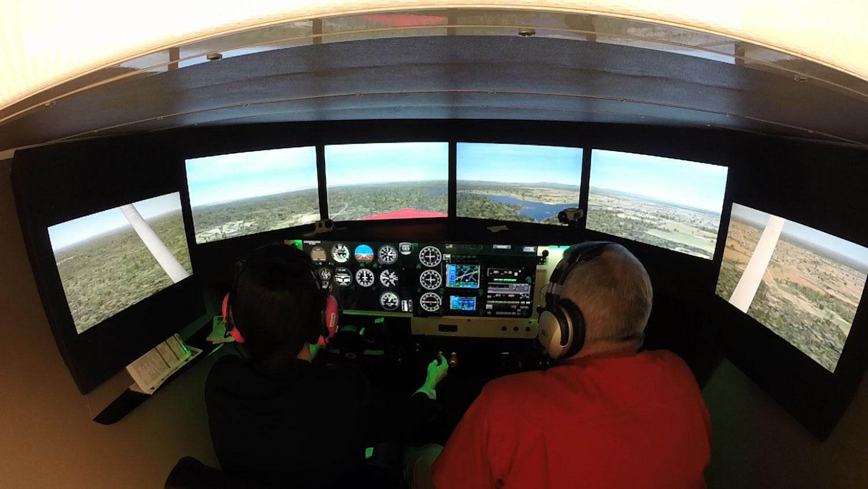 Redbird FMX Simulatior