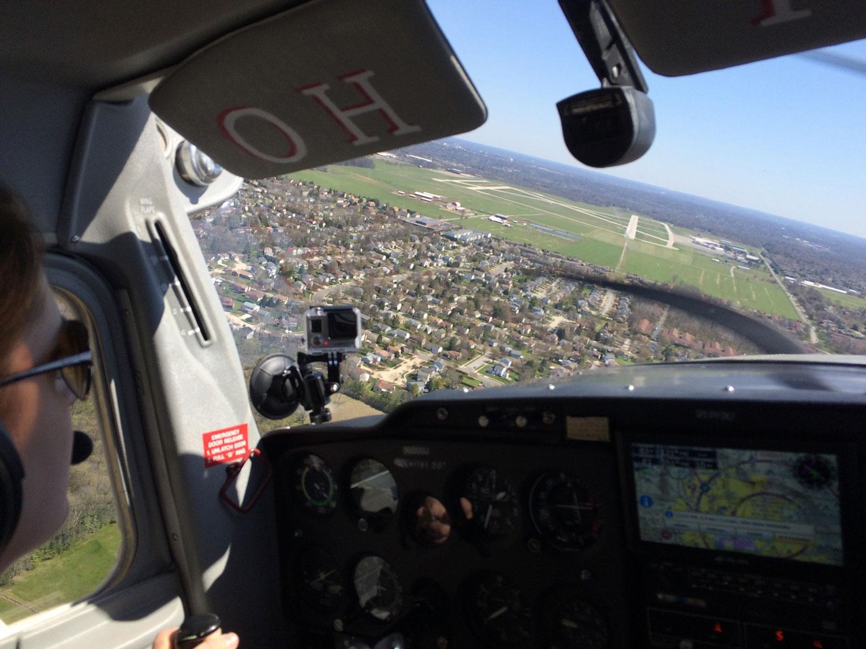 Landing OSU Cessna 150