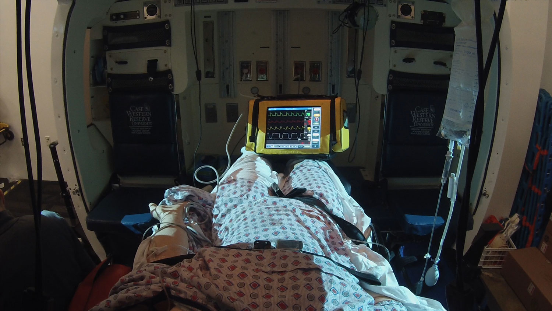 Med Evac helicopter simulator