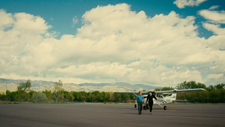 Britt at Boulder airport